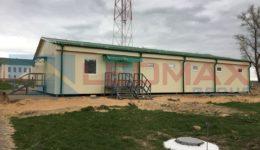 Мобильное здание для бани г. Осиповичи