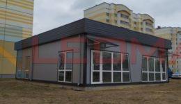 Торговый павильон комплектного заводского изготовления 10,0х12,0(м) г.Калинковичи
