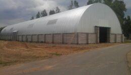 Строительство ангара в г. Толочин